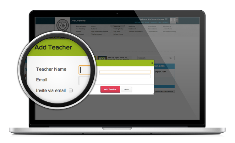 Teacher Database